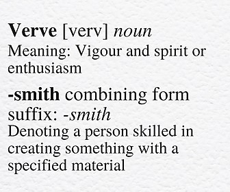 Definition VerveSmith Independent Educational Consultants