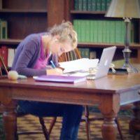 Focused on essay